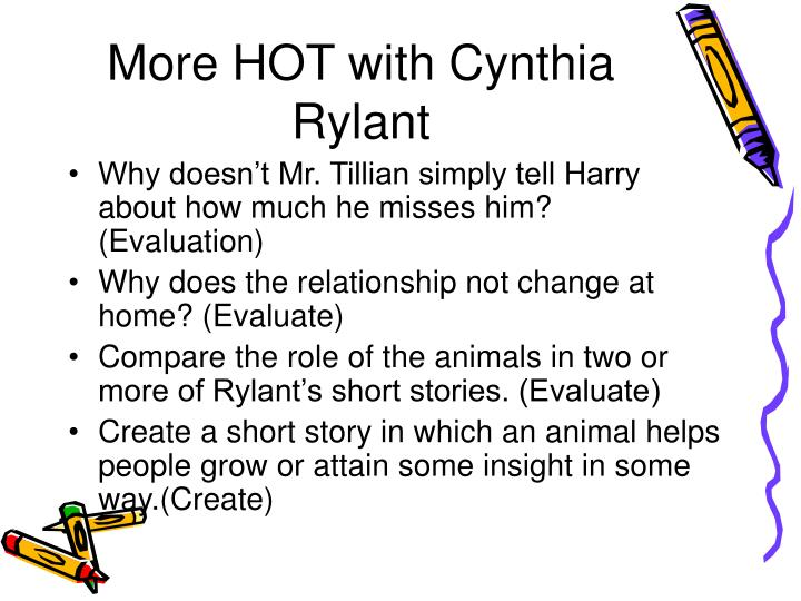 More HOT with Cynthia Rylant