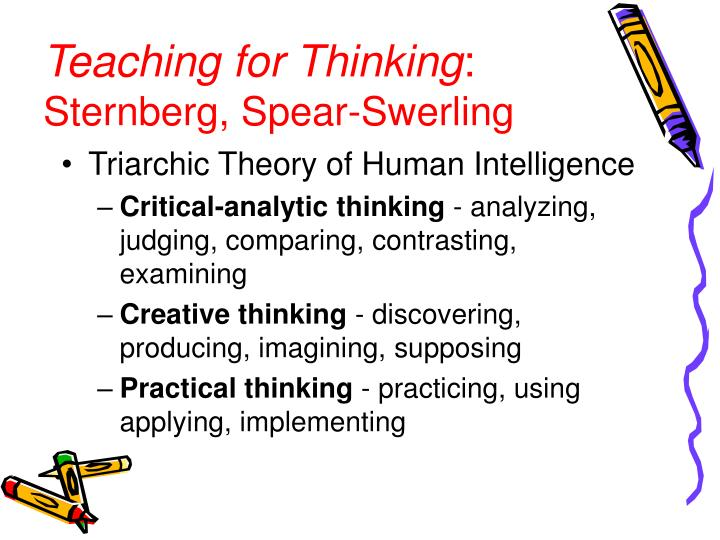 Teaching for Thinking