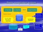 static compilation system