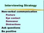 interviewing strategy2