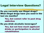 legal interview questions16