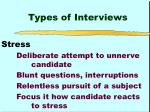 types of interviews6