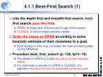 4 1 1 best first search 1