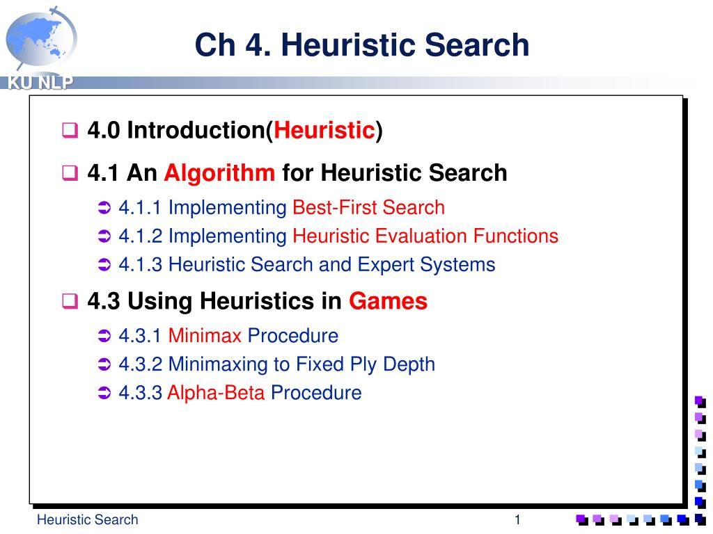 ch 4 heuristic search