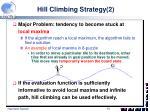 hill climbing strategy 2