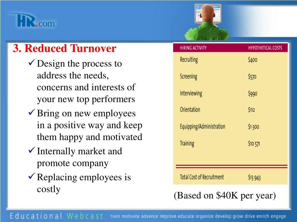 3. Reduced Turnover