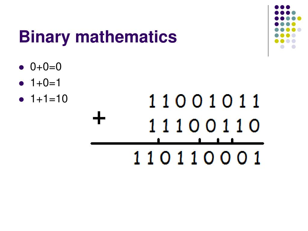 Binary mathematics