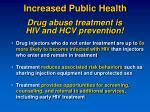increased public health