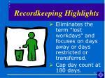 recordkeeping highlights13