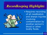 recordkeeping highlights14