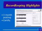 recordkeeping highlights18