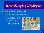 recordkeeping highlights4