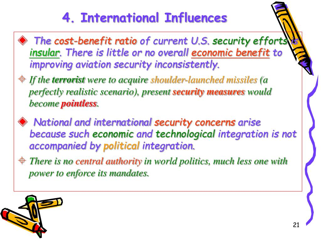 4. International Influences
