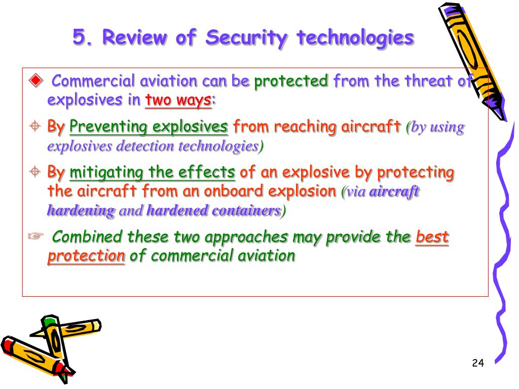 5. Review of Security technologies