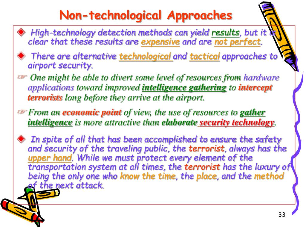 Non-technological Approaches
