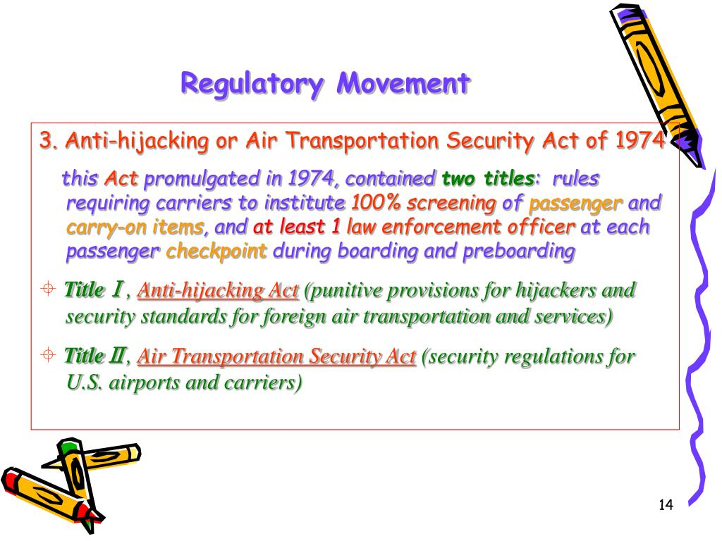 Regulatory Movement