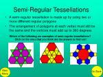 semi regular tessellations