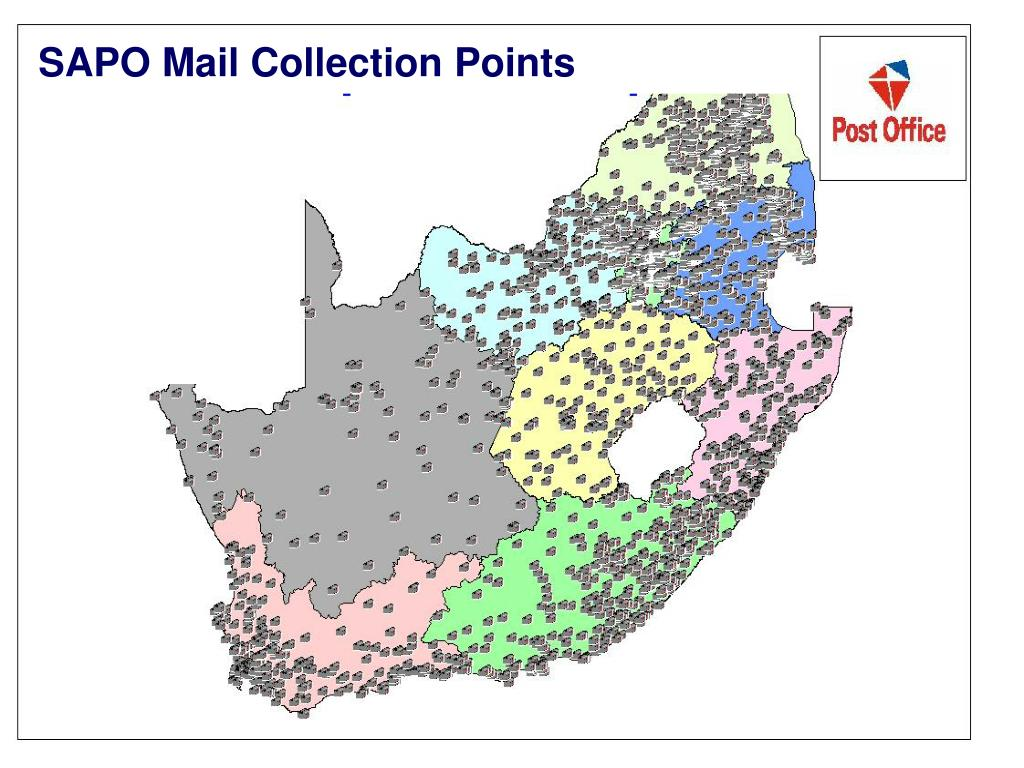 SAPO Mail Collection Points