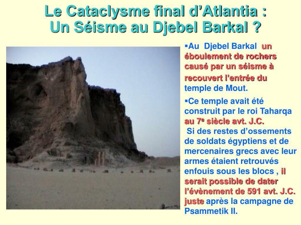Le Cataclysme final d'Atlantia :