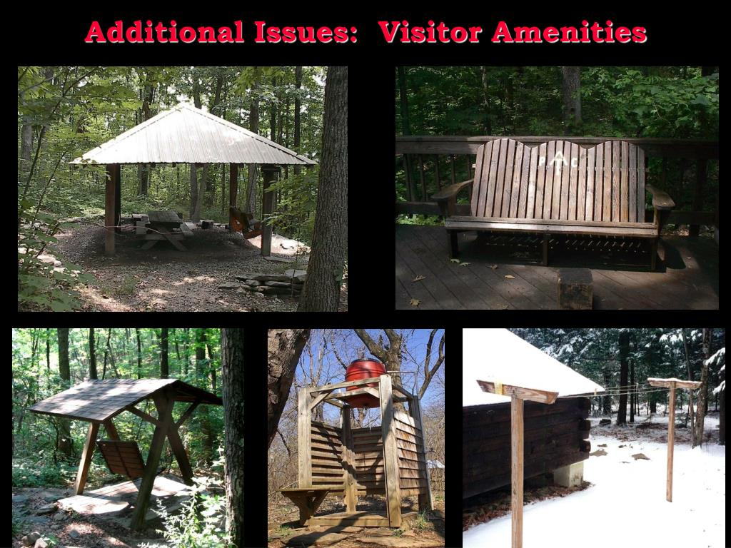 Additional Issues:  Visitor Amenities