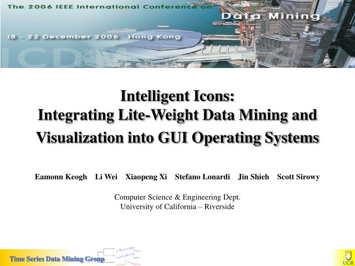 Intelligent icons integrating lite weight data mining and visualization into gui operating systems
