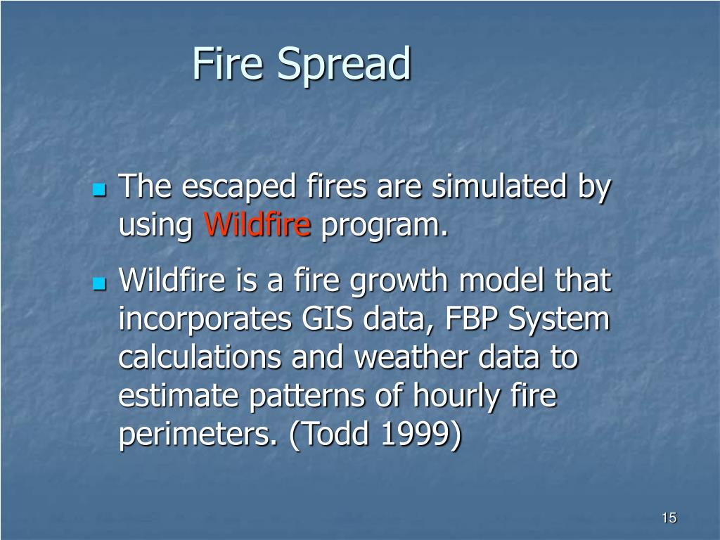 Fire Spread