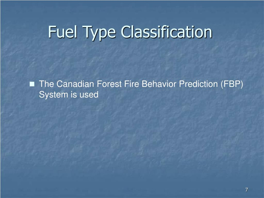 Fuel Type Classification