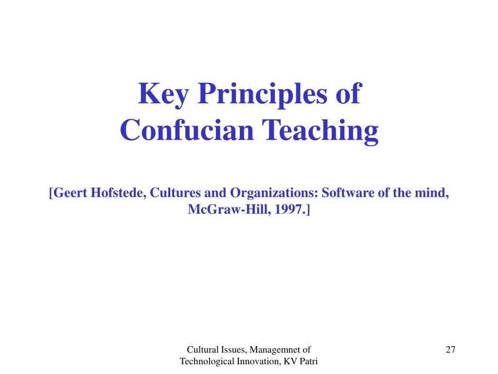 Key Principles of