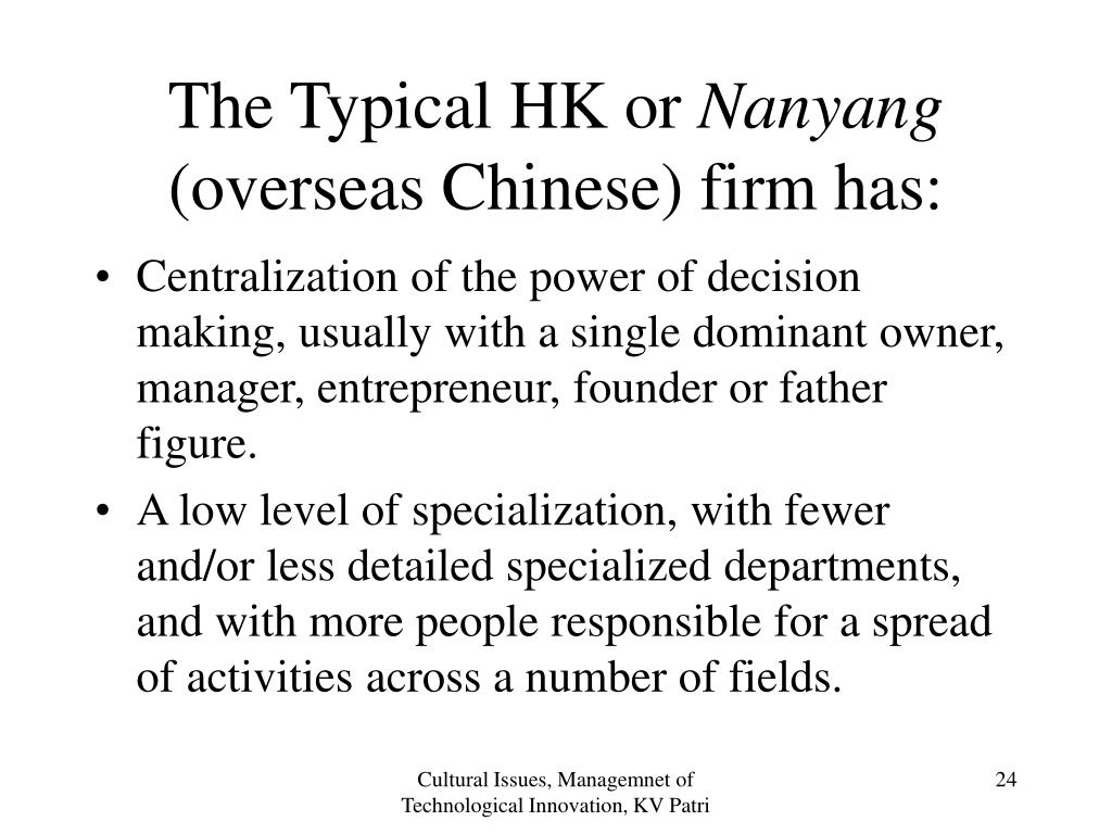 The Typical HK or