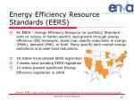 energy efficiency resource standards eers