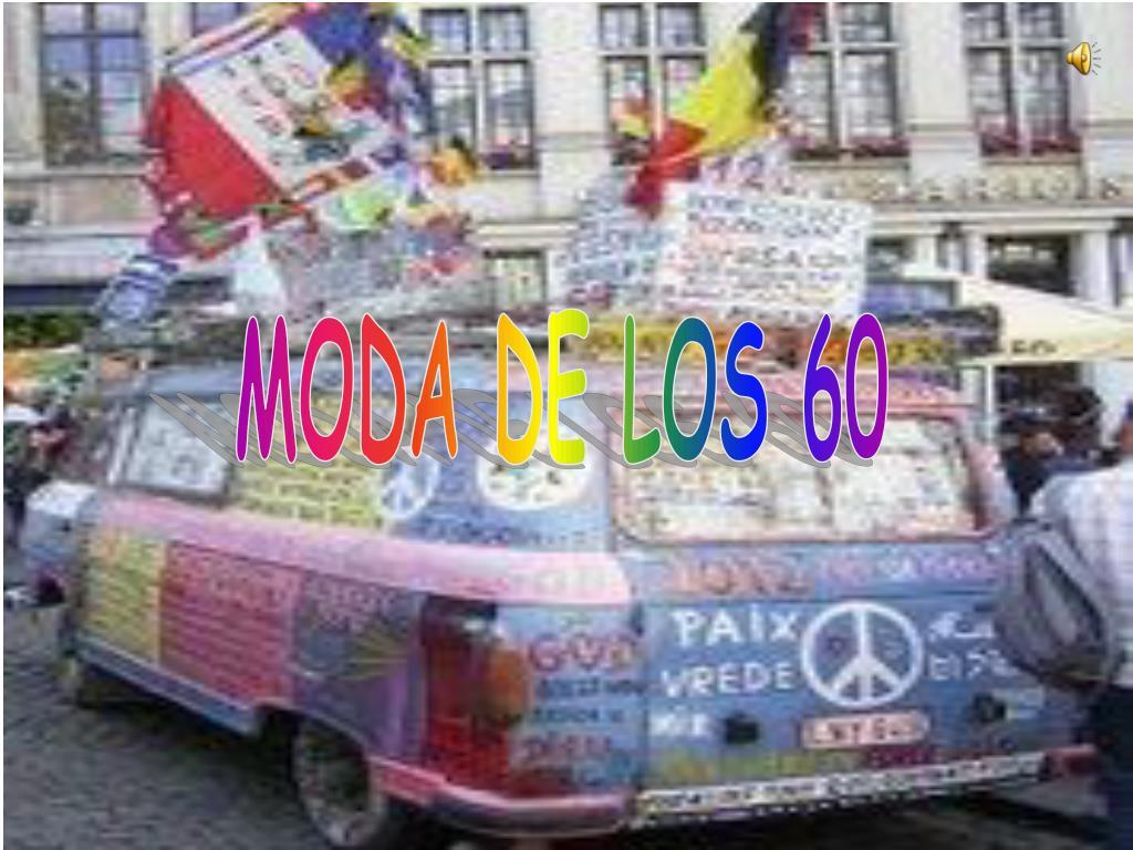MODA DE LOS 60
