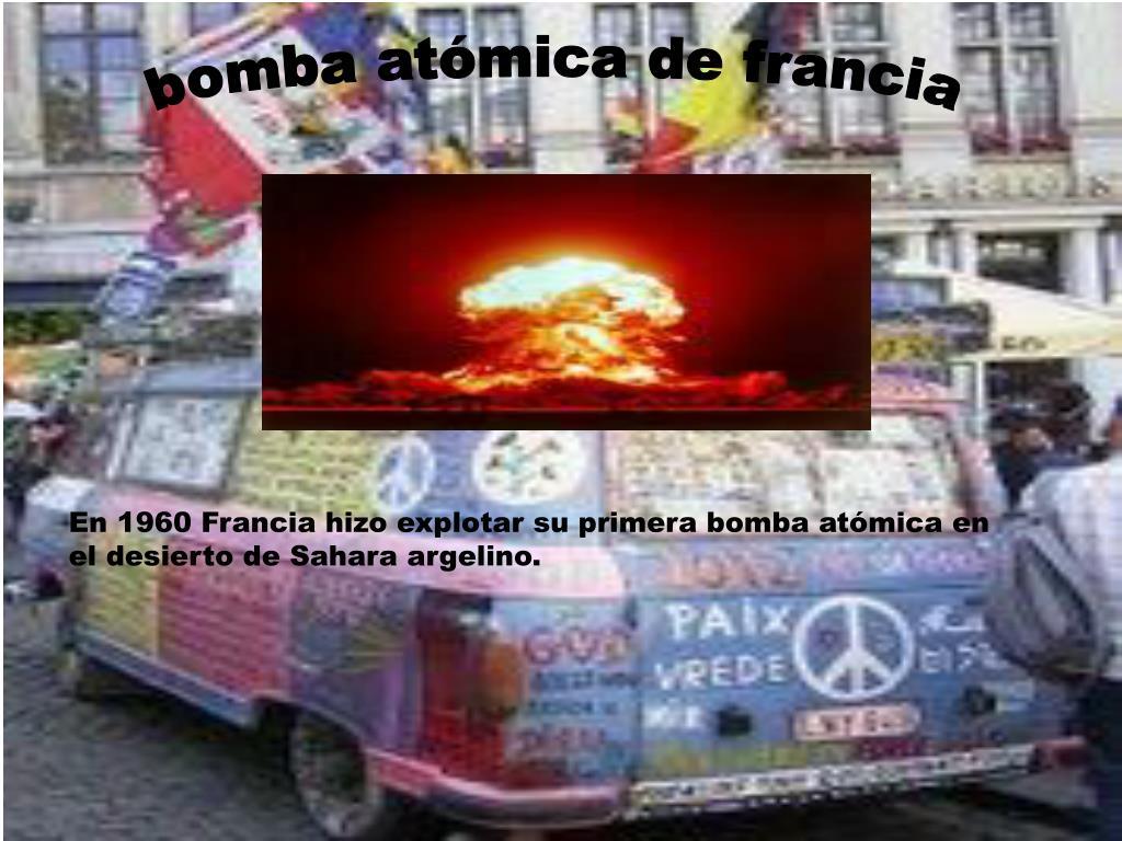 bomba atómica de francia