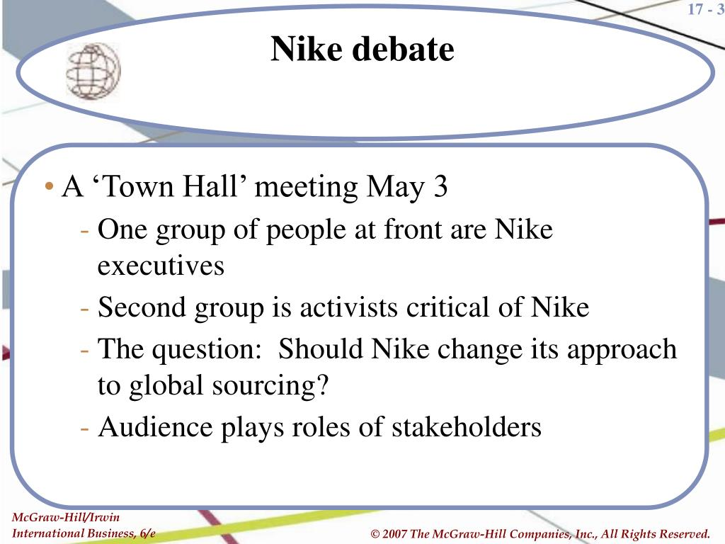 A 'Town Hall' meeting May 3
