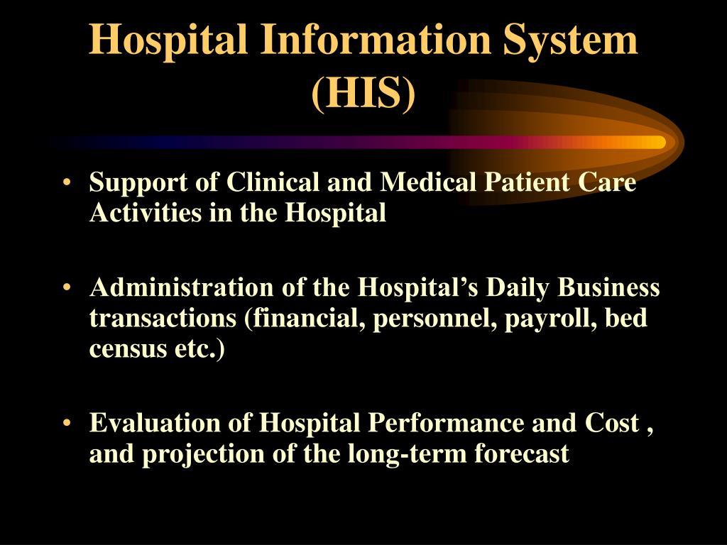 Hospital Information System (HIS)