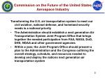 commission on the future of the united states aerospace industry