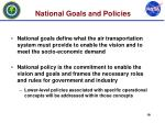 national goals and policies
