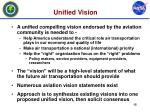 unified vision