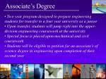 associate s degree