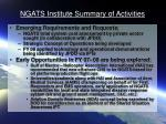 ngats institute summary of activities5
