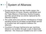 system of alliances3