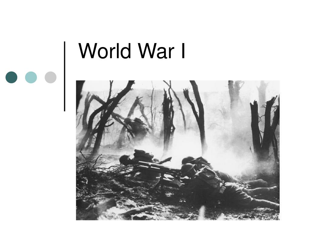 world war i l.