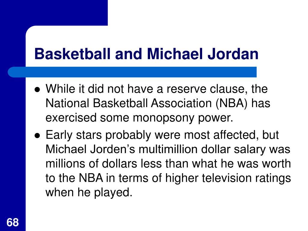 Basketball and Michael Jordan