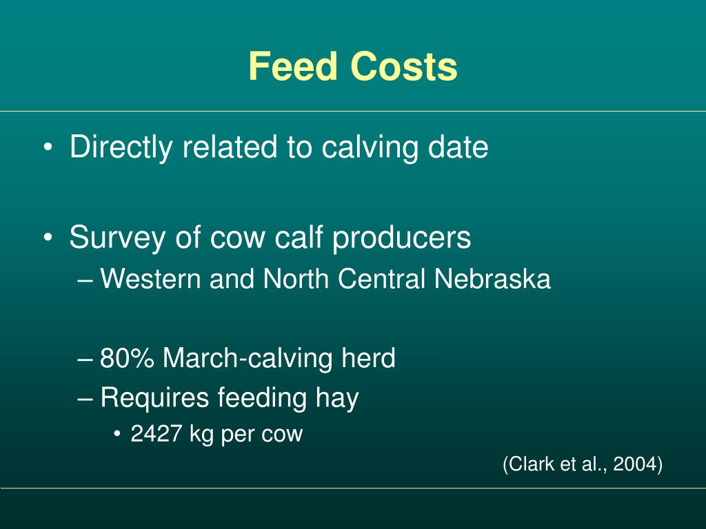 Feed Costs