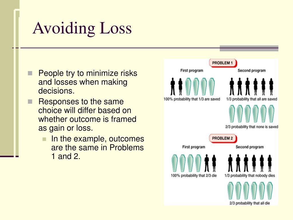Avoiding Loss