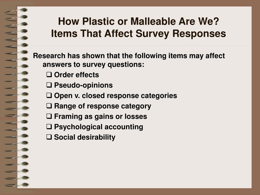 How Plastic or Malleable Are We?