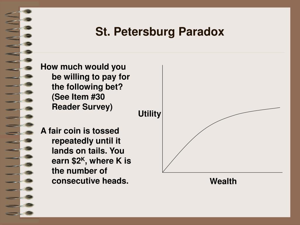 St. Petersburg Paradox
