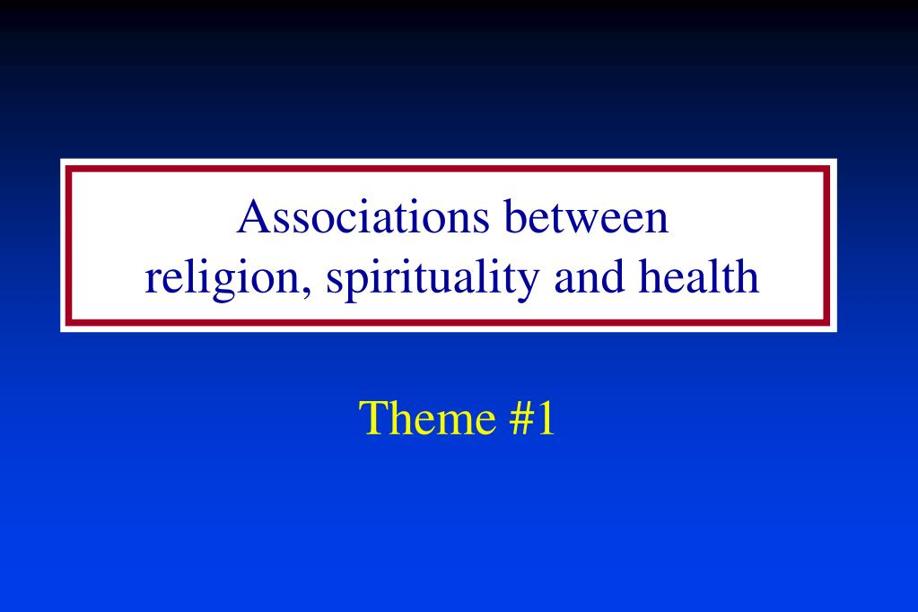 Associations between