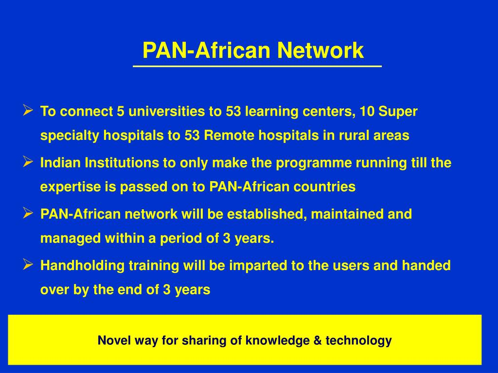 PAN-African Network