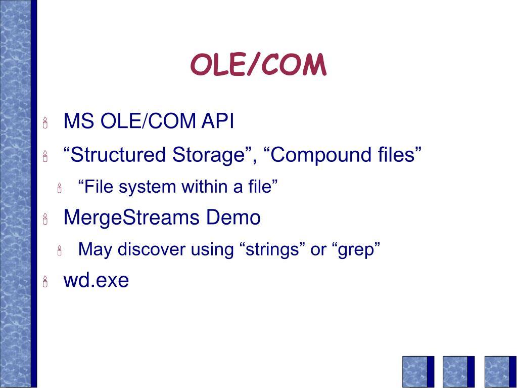 OLE/COM