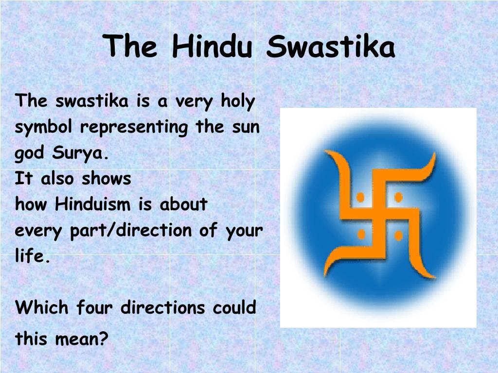 The Hindu Swastika